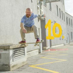 kinder- und jugendtrainer für skateboarden