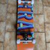 Trap iron logo complete skateboard